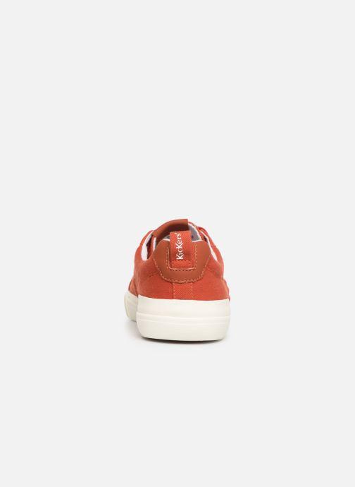 Baskets Kickers ARMILLE Rouge vue droite