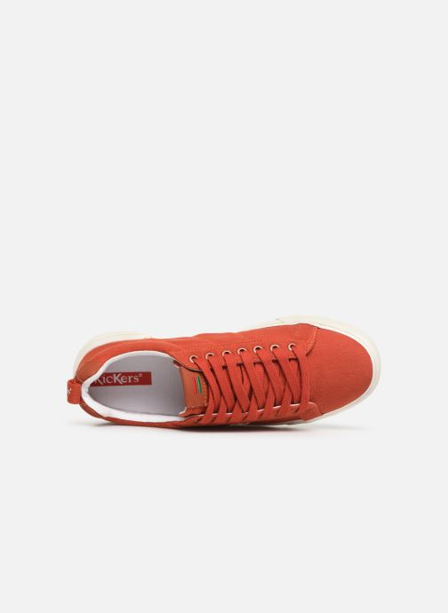 Baskets Kickers ARMILLE Rouge vue gauche