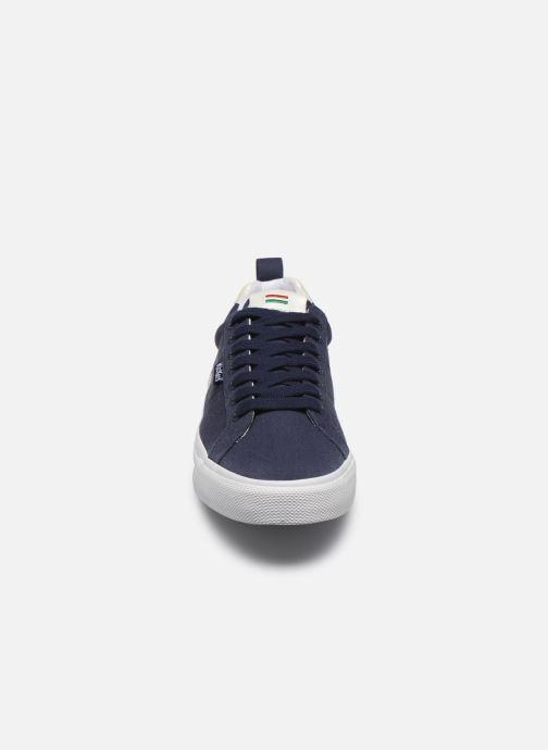 Baskets Kickers ARMILLE Bleu vue portées chaussures