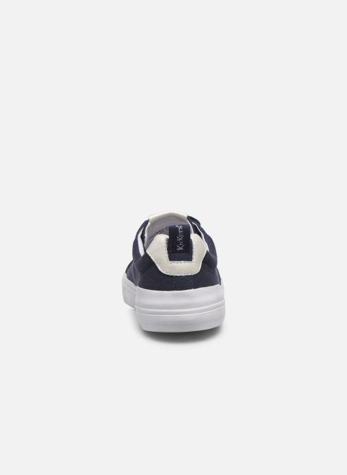 Baskets Kickers ARMILLE Bleu vue droite