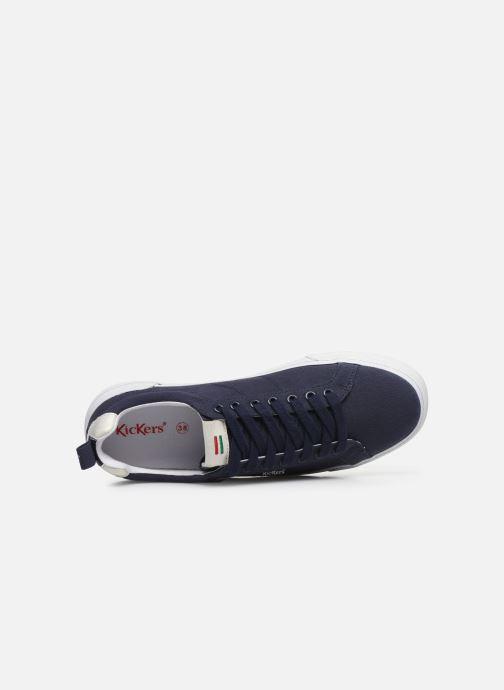 Sneaker Kickers ARMILLE blau ansicht von links