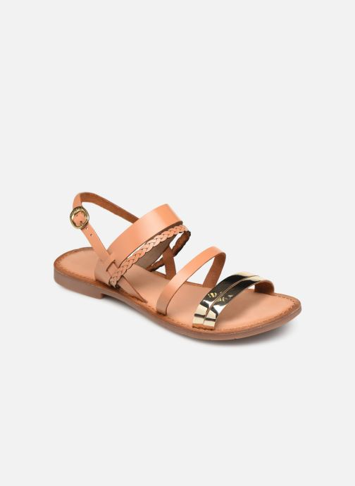 Sandales et nu-pieds Kickers ETHAL Marron vue détail/paire