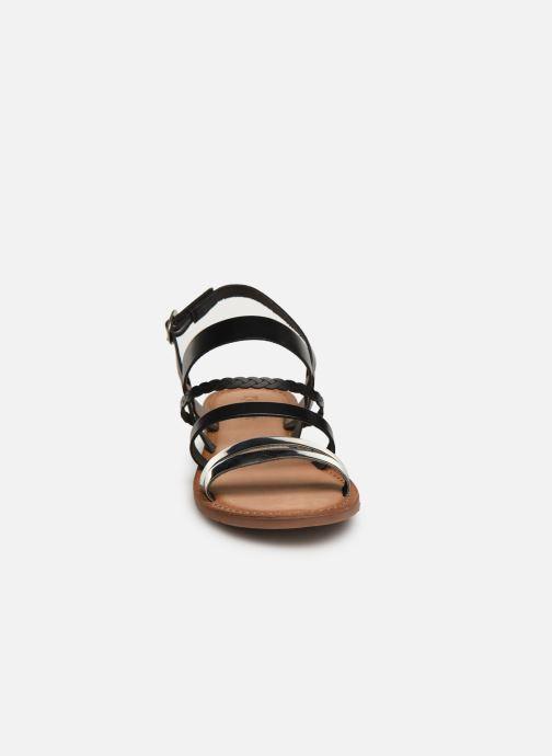 Sandales et nu-pieds Kickers ETHAL Noir vue portées chaussures