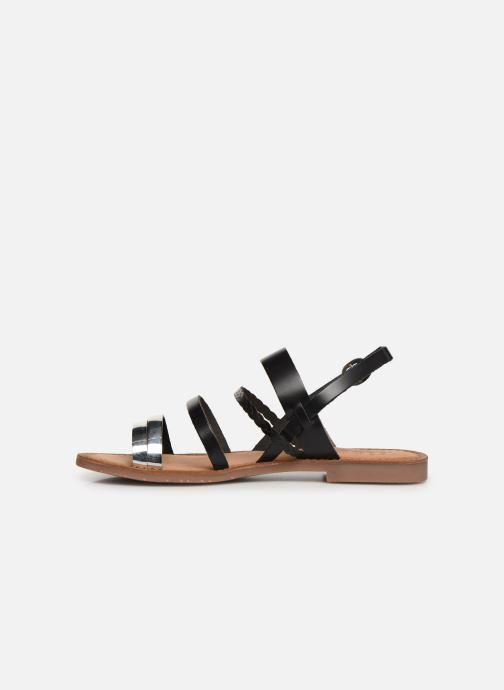 Sandales et nu-pieds Kickers ETHAL Noir vue face