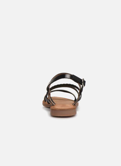 Sandales et nu-pieds Kickers ETHAL Noir vue droite