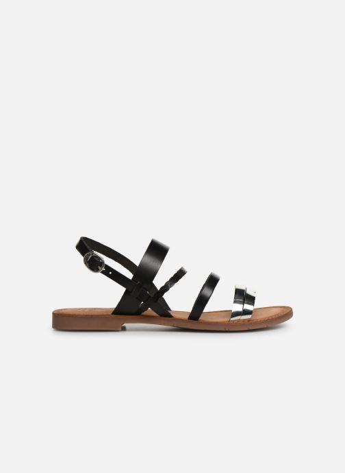 Sandales et nu-pieds Kickers ETHAL Noir vue derrière