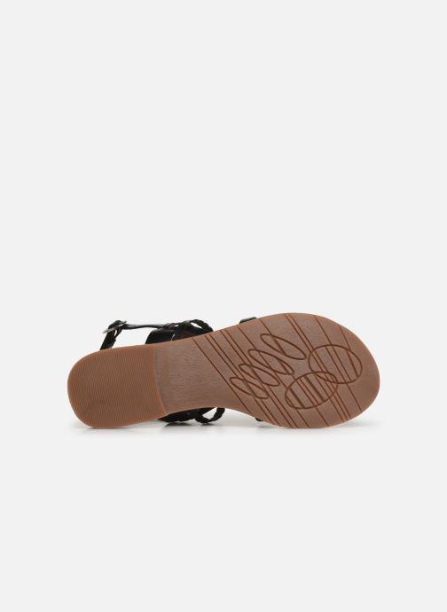 Sandales et nu-pieds Kickers ETHAL Noir vue haut