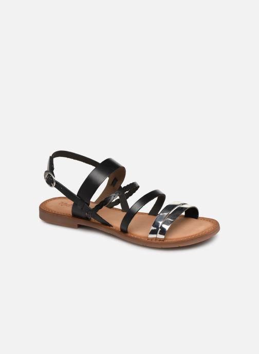 Sandales et nu-pieds Kickers ETHAL Noir vue détail/paire