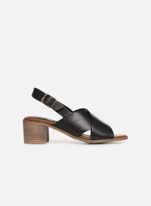 Sandales et nu-pieds Kickers VICTORIANE Noir vue derrière