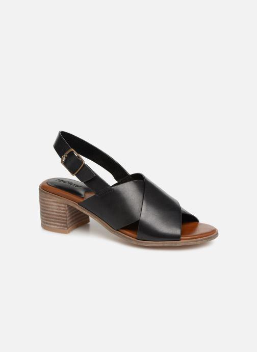 Sandales et nu-pieds Kickers VICTORIANE Noir vue détail/paire