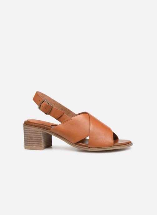 Sandales et nu-pieds Kickers VICTORIANE Marron vue derrière