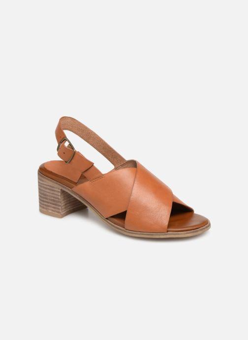 Sandales et nu-pieds Kickers VICTORIANE Marron vue détail/paire