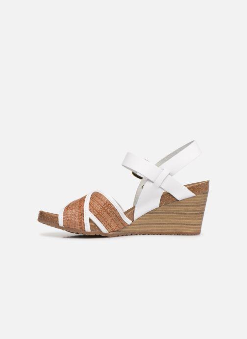 Sandales et nu-pieds Kickers SALAMBO Blanc vue face