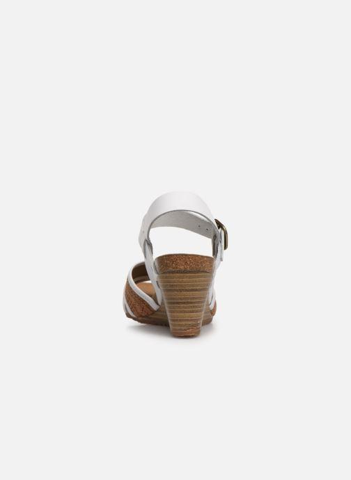 Sandali e scarpe aperte Kickers SALAMBO Bianco immagine destra