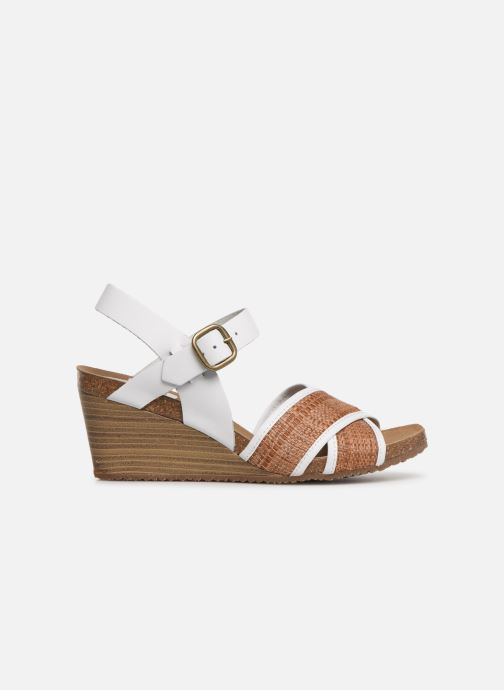 Sandali e scarpe aperte Kickers SALAMBO Bianco immagine posteriore