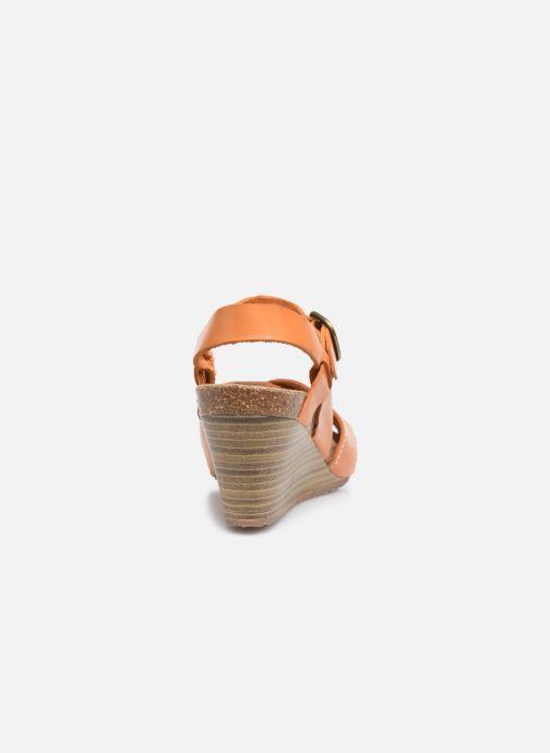 Sandales et nu-pieds Kickers SALAMBO Orange vue droite