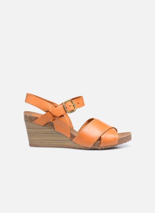 Sandales et nu-pieds Kickers SALAMBO Orange vue derrière