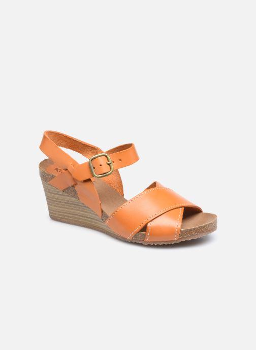 Sandales et nu-pieds Kickers SALAMBO Orange vue détail/paire