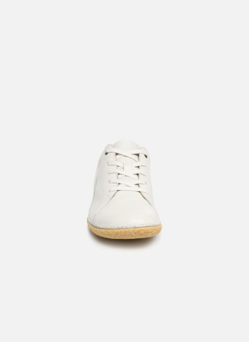 Chaussures à lacets Kickers HONY Blanc vue portées chaussures