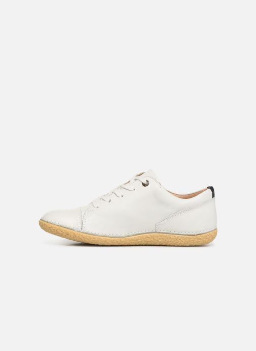 Chaussures à lacets Kickers HONY Blanc vue face