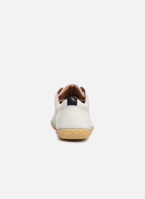 Chaussures à lacets Kickers HONY Blanc vue droite
