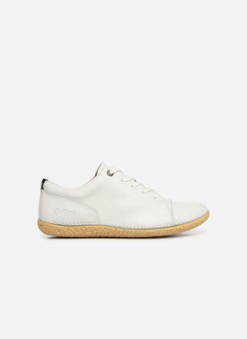 Chaussures à lacets Kickers HONY Blanc vue derrière