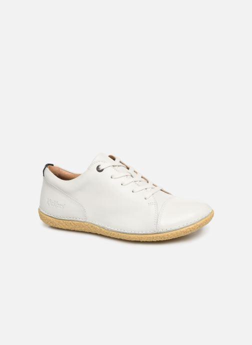 Chaussures à lacets Kickers HONY Blanc vue détail/paire