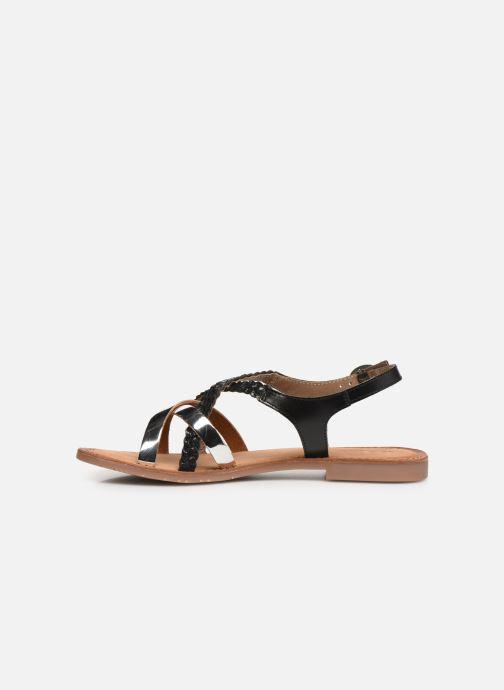 Sandales et nu-pieds Kickers ETHY Noir vue face