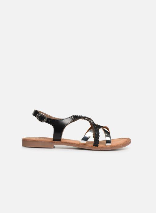 Sandalen Kickers ETHY schwarz ansicht von hinten