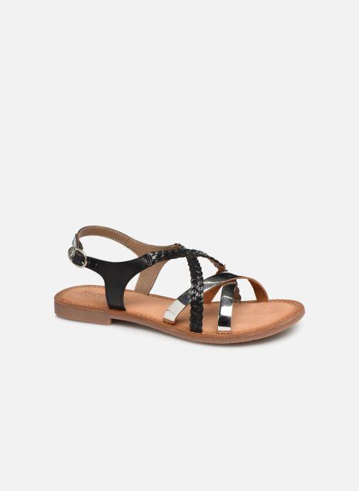 Sandales et nu-pieds Kickers ETHY Noir vue détail/paire
