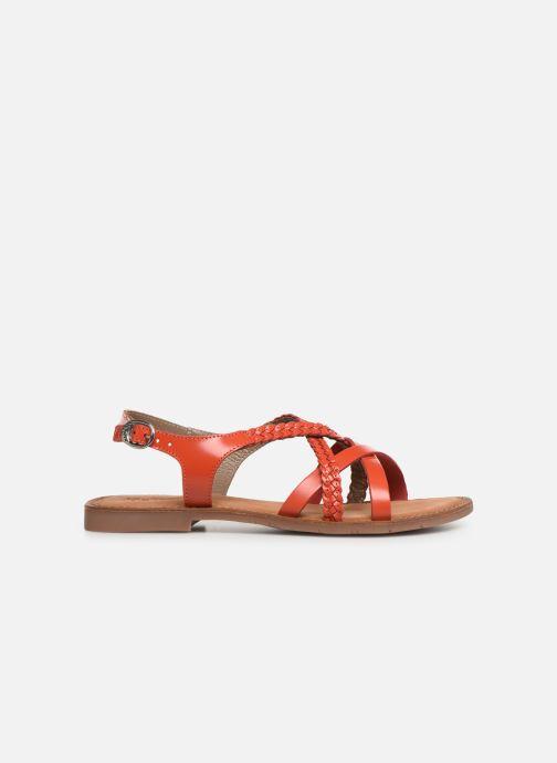 Sandales et nu-pieds Kickers ETHY Orange vue derrière