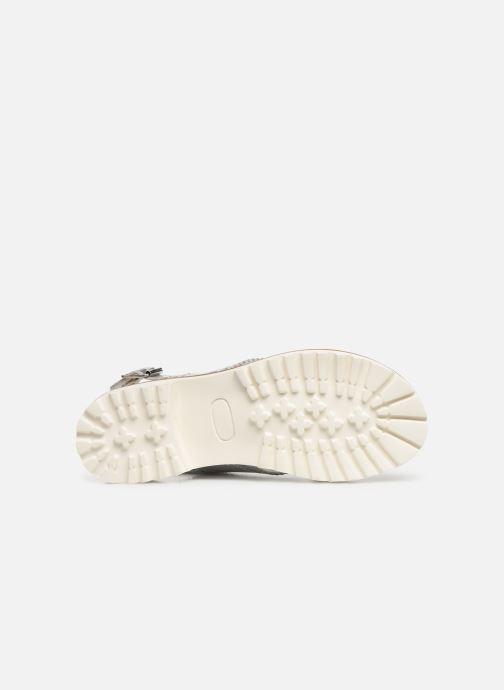 Sandales et nu-pieds Kickers RUPWAY Argent vue haut