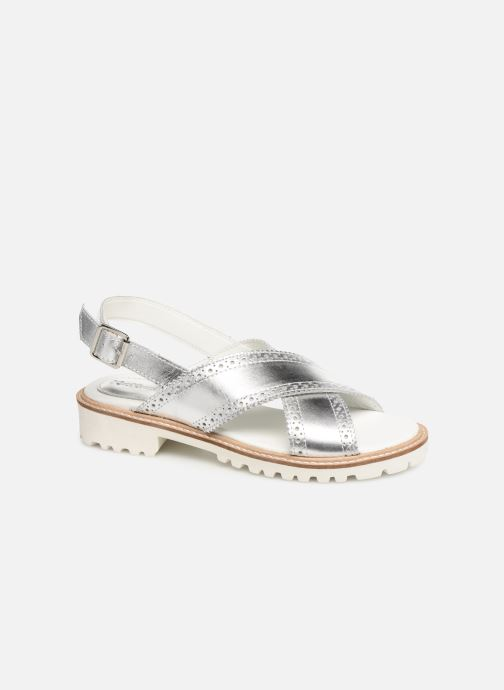 Sandales et nu-pieds Kickers RUPWAY Argent vue détail/paire