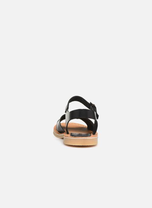 Sandales et nu-pieds Kickers TILLY Noir vue droite