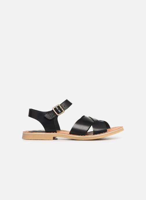 Sandales et nu-pieds Kickers TILLY Noir vue derrière