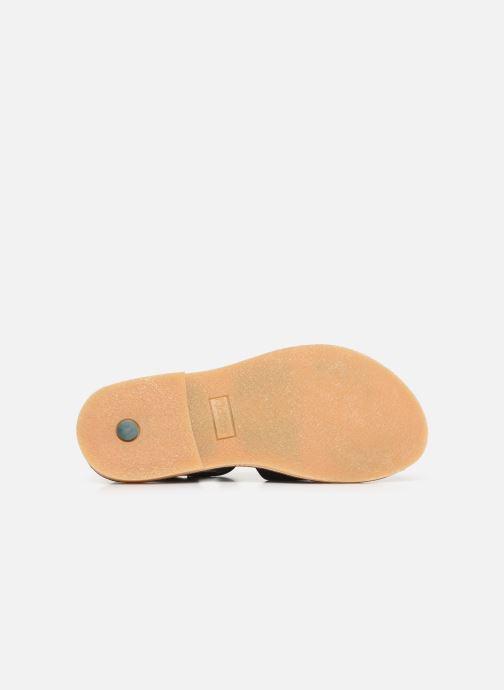 Sandales et nu-pieds Kickers TILLY Noir vue haut