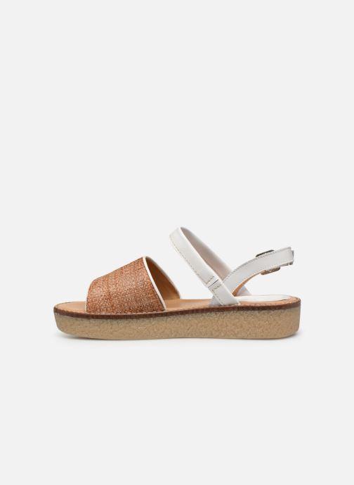 Kickers VICTORIETTE (Blanc) - Sandales et nu-pieds chez Sarenza (357210)