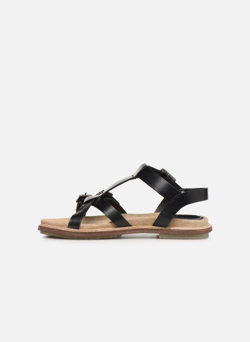 Sandales et nu-pieds Kickers MEENWICH Noir vue face