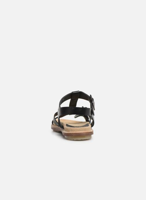 Sandales et nu-pieds Kickers MEENWICH Noir vue droite