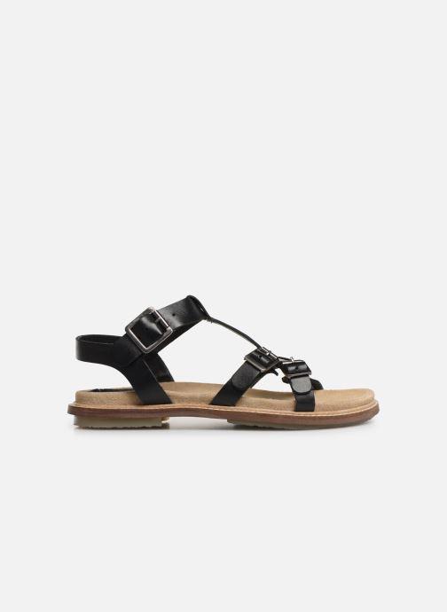 Sandales et nu-pieds Kickers MEENWICH Noir vue derrière