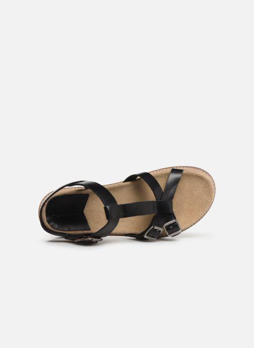 Sandales et nu-pieds Kickers MEENWICH Noir vue gauche
