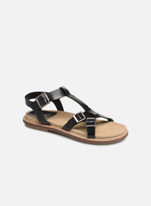 Sandales et nu-pieds Kickers MEENWICH Noir vue détail/paire
