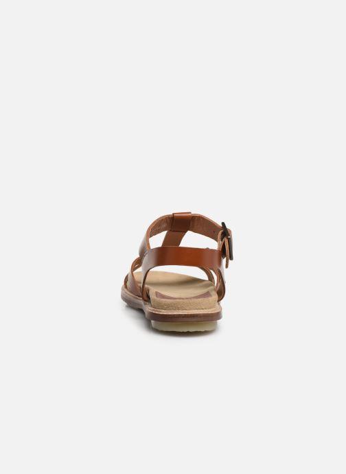 Sandales et nu-pieds Kickers MEENWICH Marron vue droite