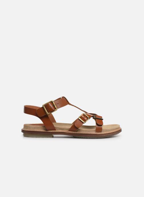 Sandales et nu-pieds Kickers MEENWICH Marron vue derrière