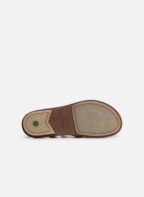 Sandales et nu-pieds Kickers MEENWICH Marron vue haut