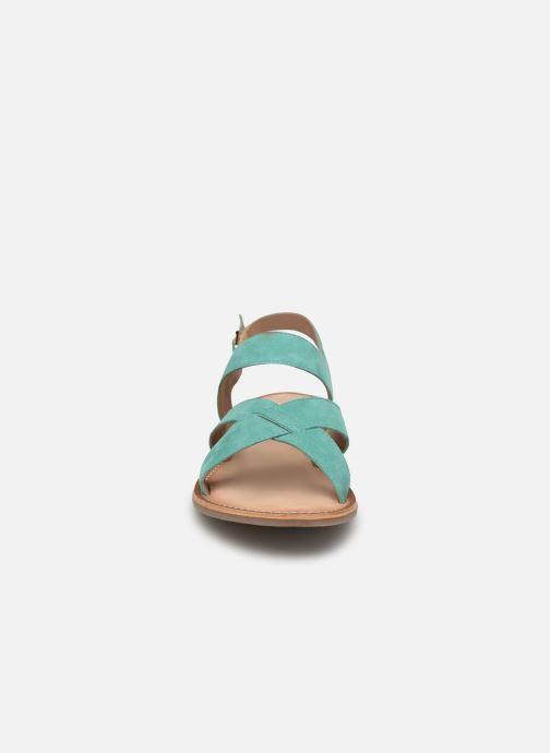 Sandalias Kickers DIBA Azul vista del modelo