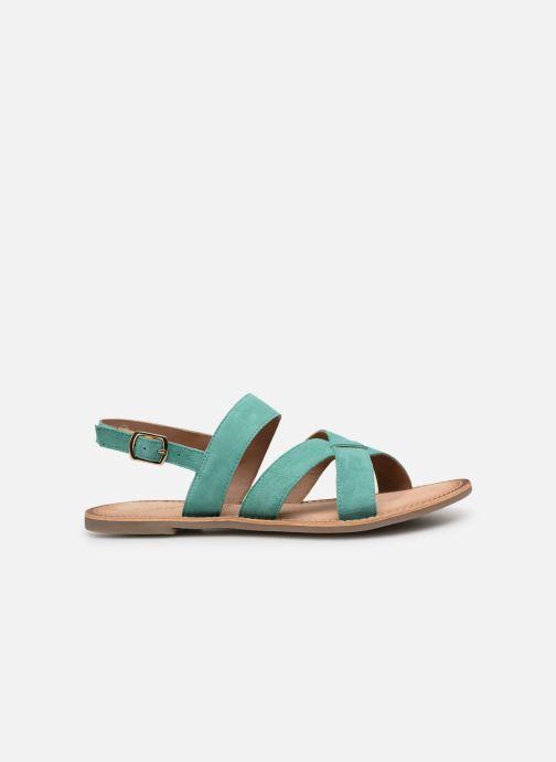 Sandalen Kickers DIBA blau ansicht von hinten