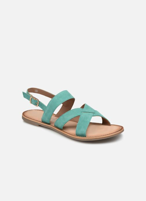 Sandalen Kickers DIBA blau detaillierte ansicht/modell