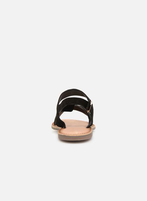 Sandales et nu-pieds Kickers DIBA Noir vue droite