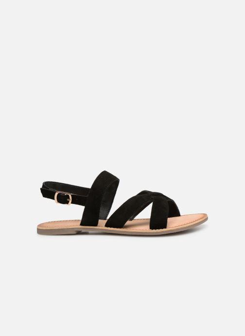 Sandales et nu-pieds Kickers DIBA Noir vue derrière